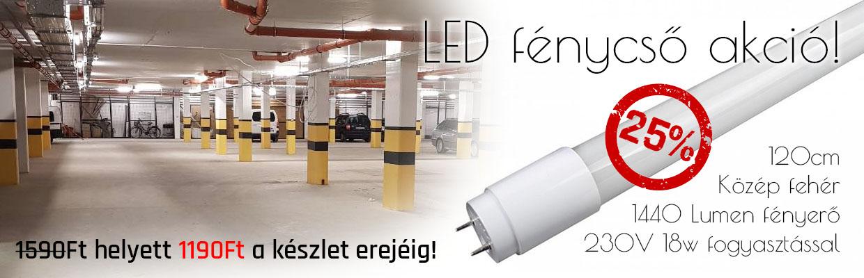 LED fénycső akció! 25% kedvezmény f998718561
