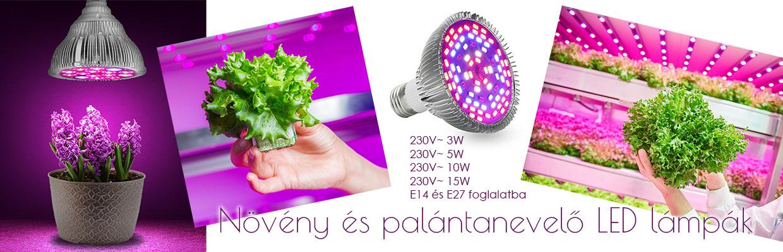 Palántanevelő LED lámpák 2dd61e772c